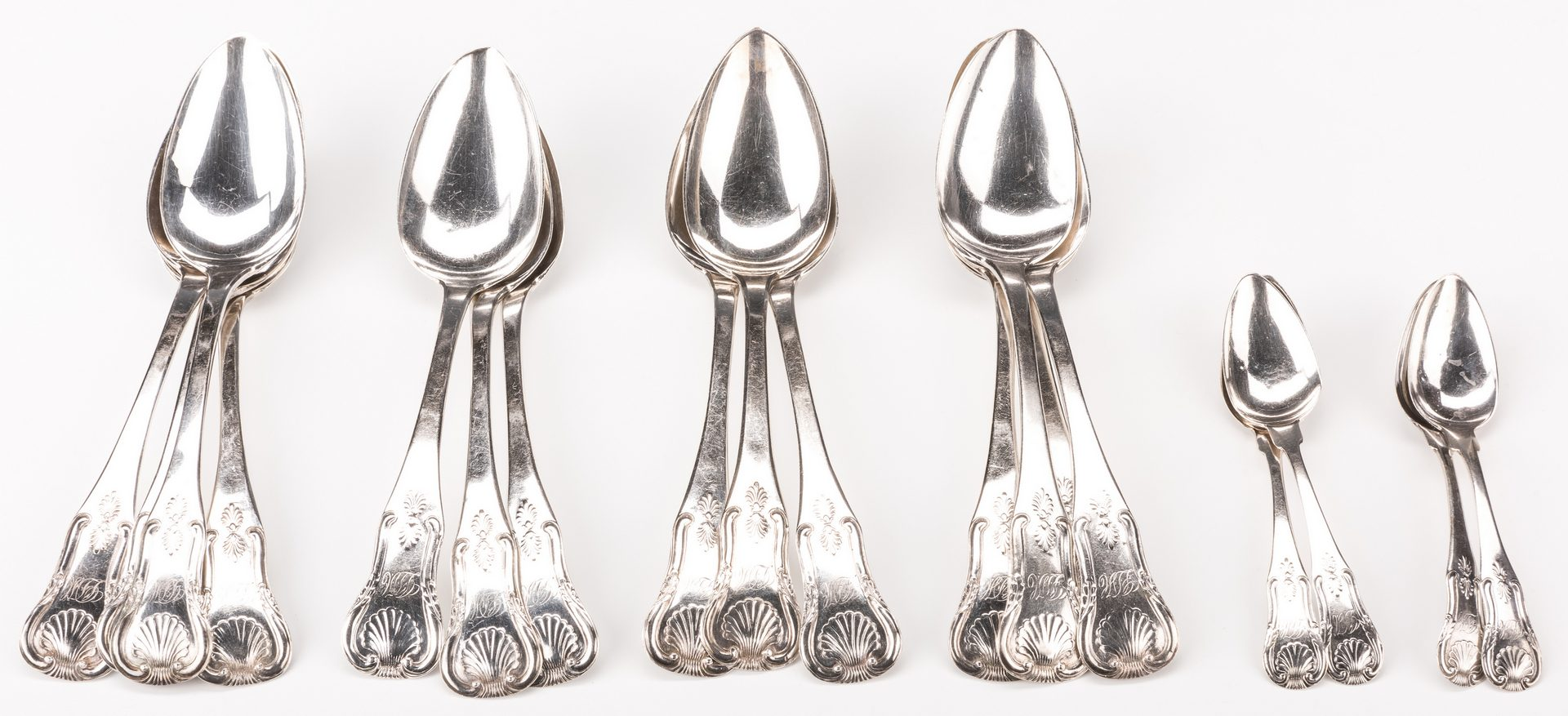 Lot 82: 14 Anthony Rasch Spoons plus 4 others