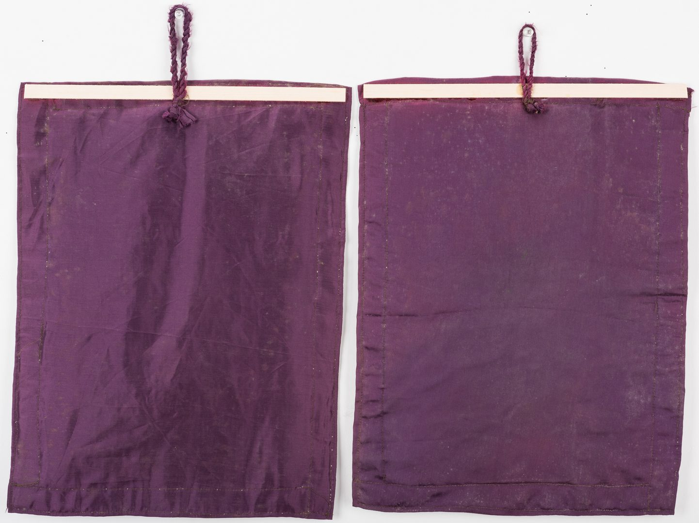 Lot 832: 2 Haitian Voo Doo flags