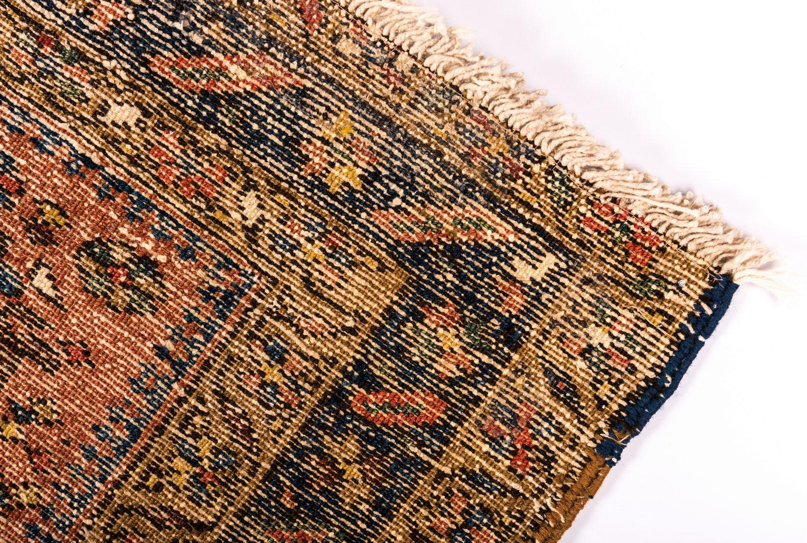 "Lot 835: Antique Persian Heriz Runner, 10'4"" L"