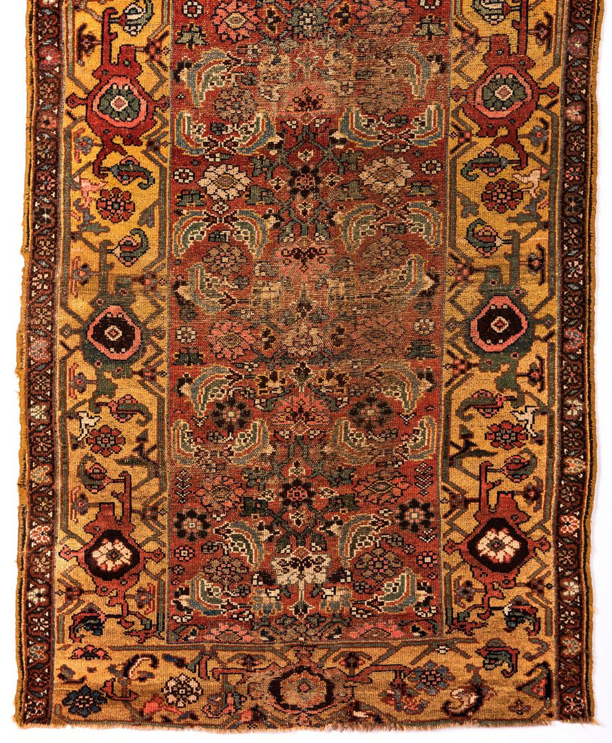 Lot 839: Russian Karabagh; Kurdish Bijar antique rugs