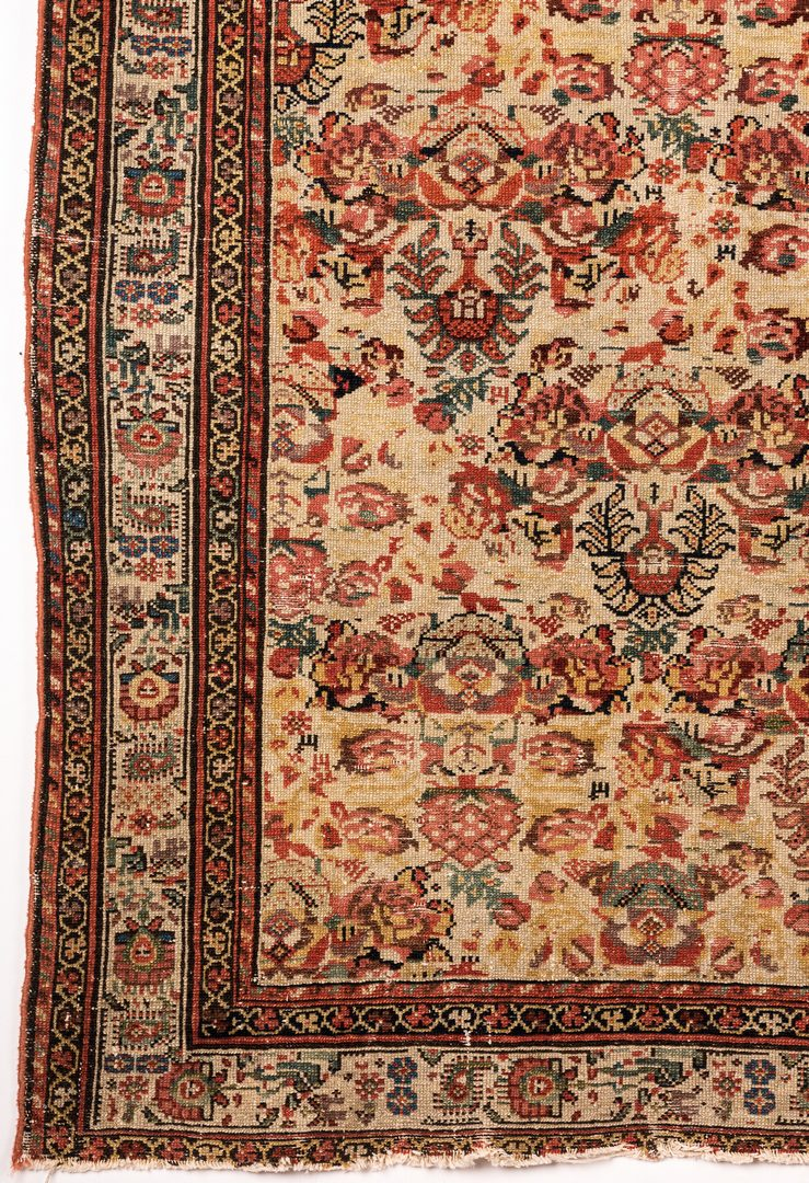 Lot 840: Persian Malayer and Tibetan mat