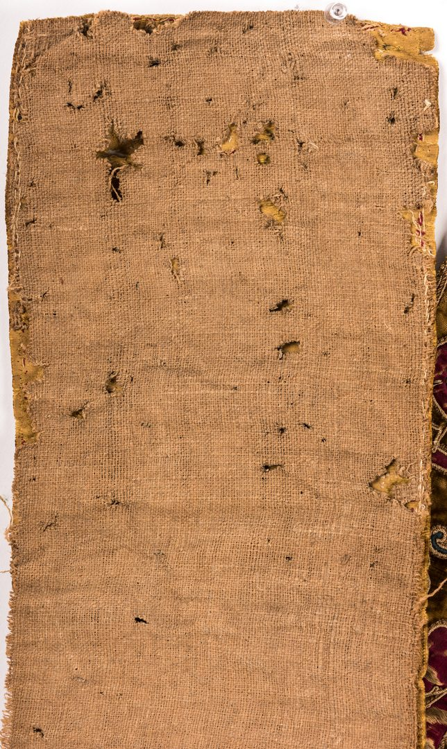 Lot 842: Mid-east Embroidered Textile plus Ecclesiastical Vestments, 3 pcs.