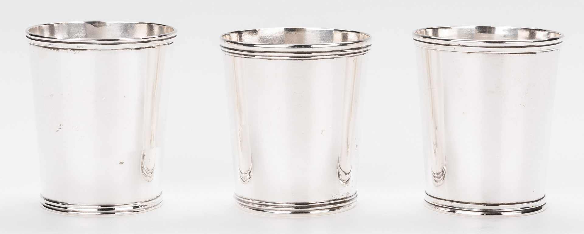 Lot 84: 3 Coin Silver Julep Cups inc. KY