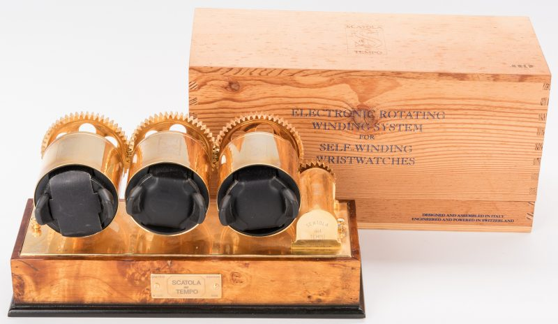 Lot 857: Scatola del Tempo Watch Winder