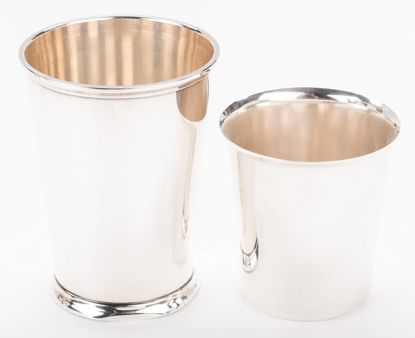 Lot 865: 5 Assorted Sterling Julep Cups