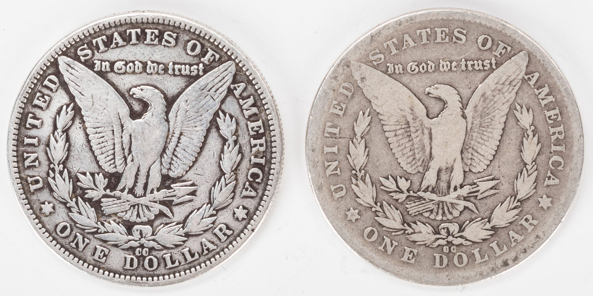 Lot 887: 41 U.S. Morgan Silver Dollars, inc. 2 Carson City