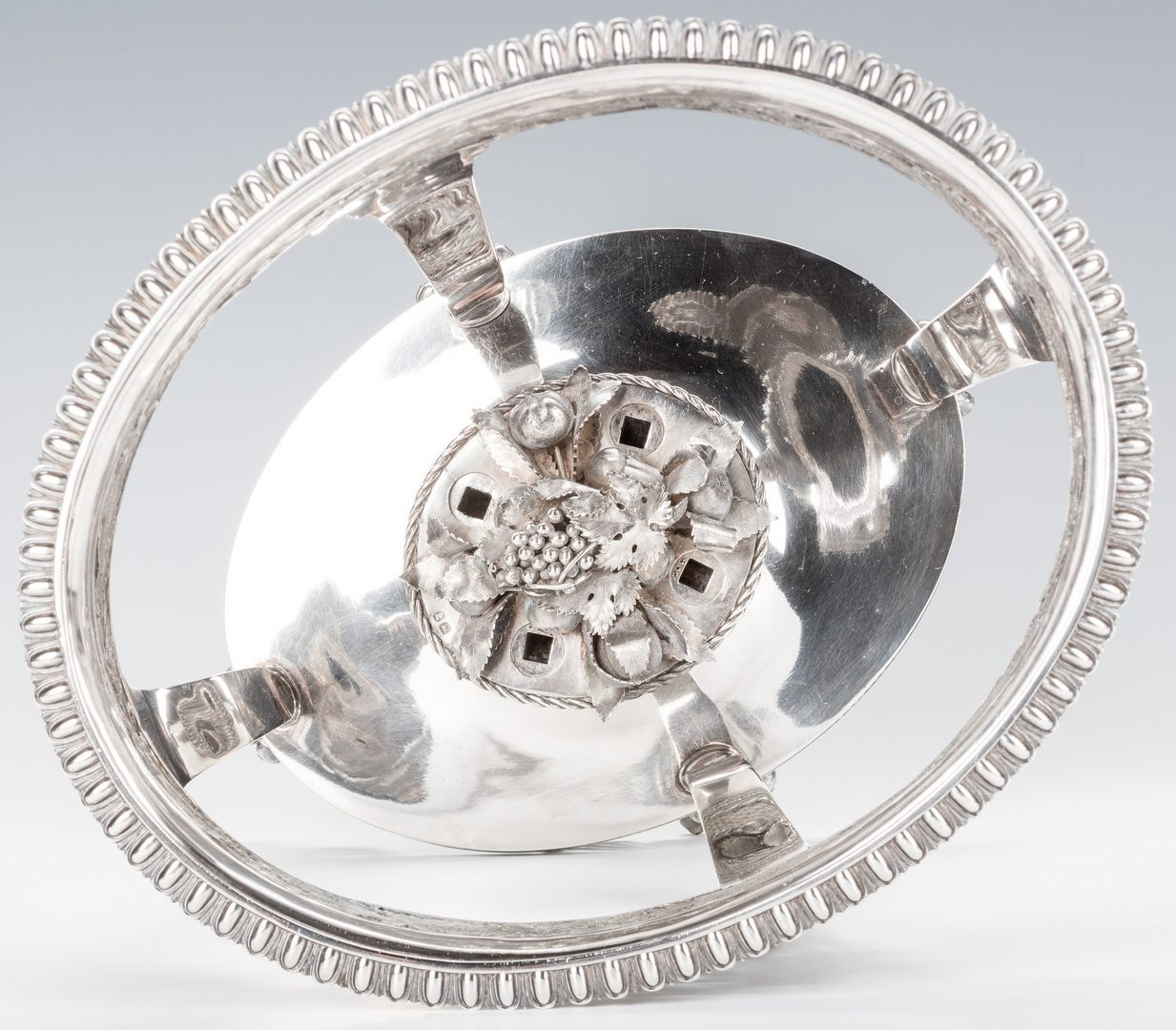 Lot 89: George III Sterling Silver Epergne