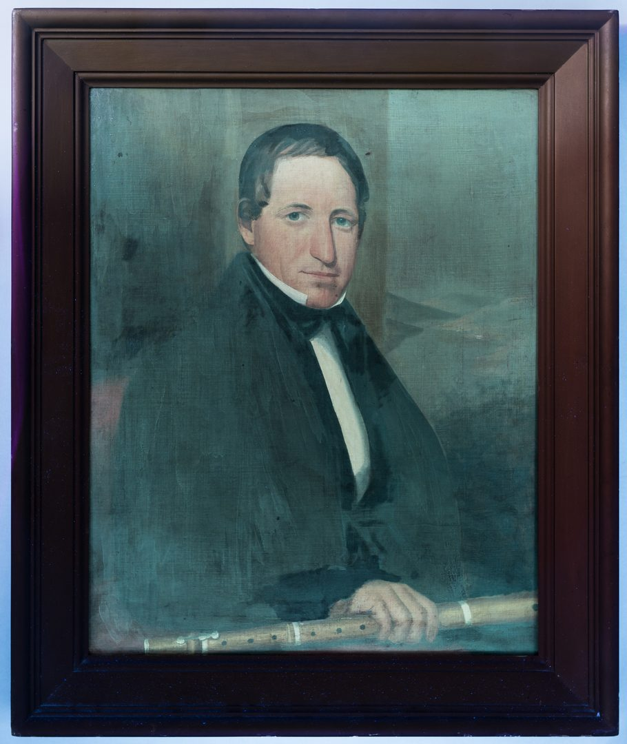 Lot 103: Portrait of Mr. Stanton, Ralph Earl or John Grimes