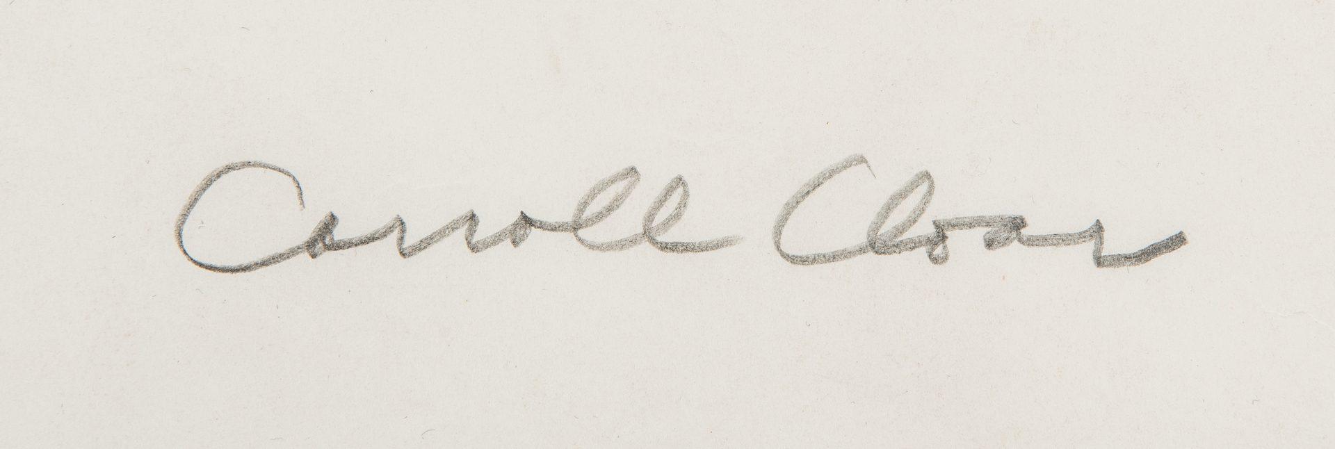 Lot 104: Carroll Cloar Drawing, Fillmore Crimm Family