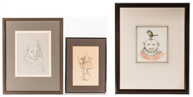 Lot 106: 3 Werner Wildner Drawings