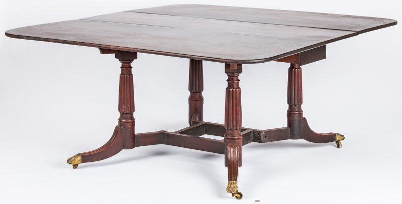 "Lot 135: Attrib. Thomas Seymour, ""Cumberland"" Dining Table"