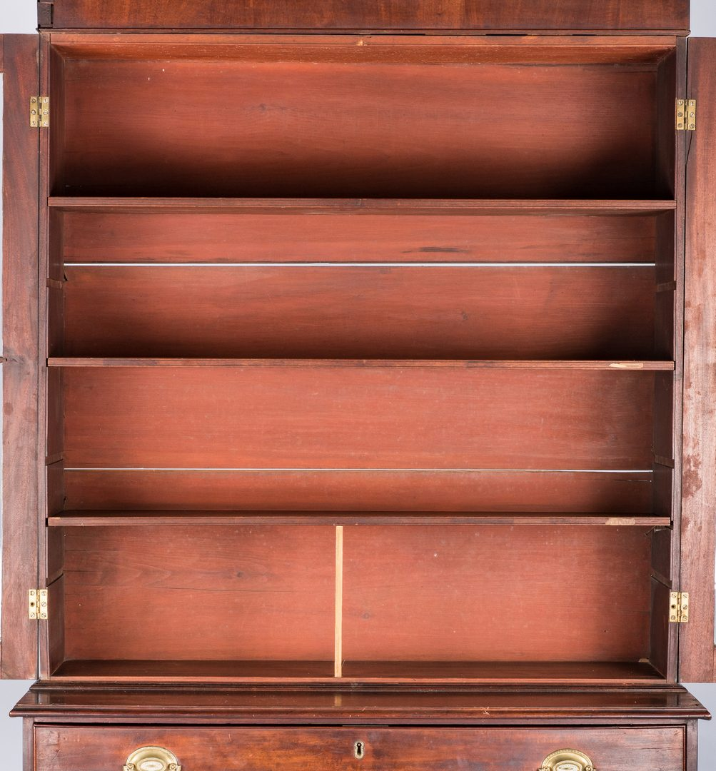 Lot 136: American Desk and Bookcase, Coleman History