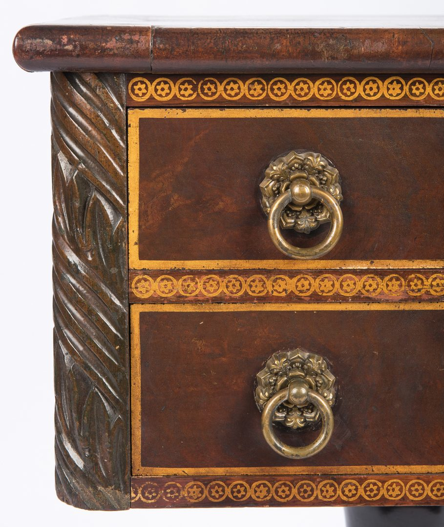 Lot 139: Classical Stenciled Work Table