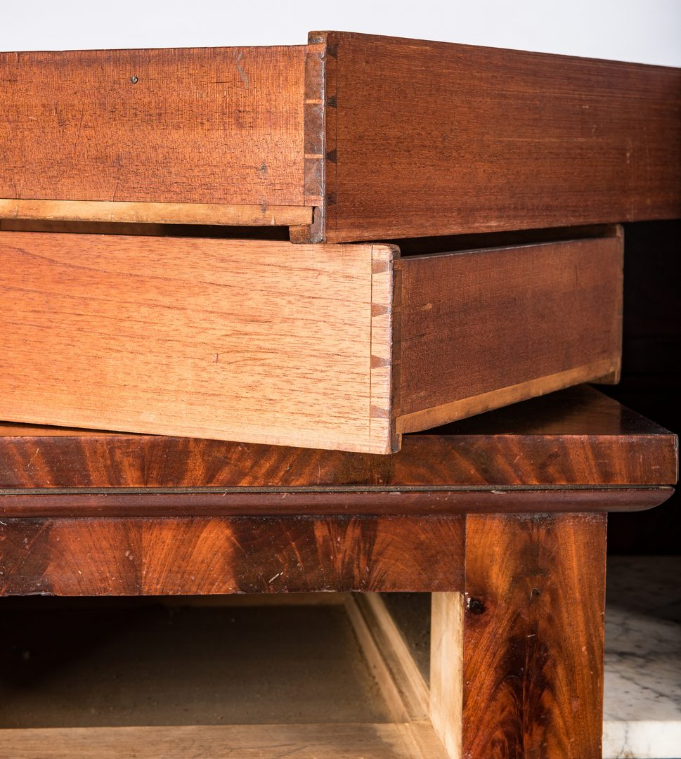 Lot 147: Signed J. Needles Baltimore Sideboard
