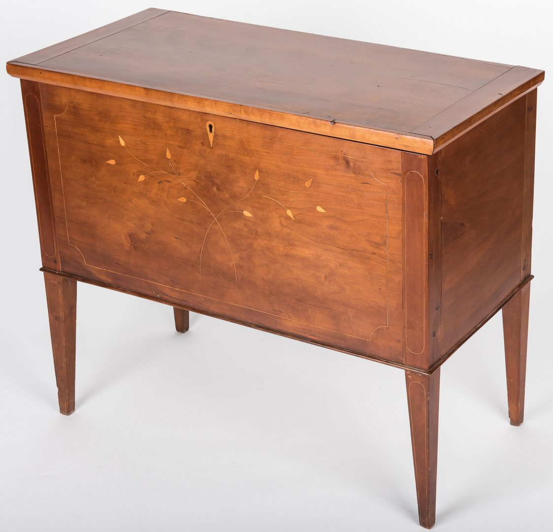 Lot 151: KY Inlaid Cherry Sugar chest