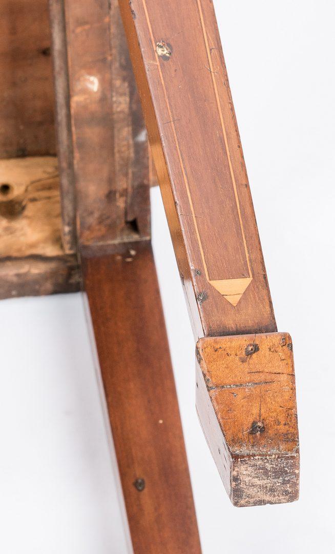 Lot 152: Inlaid sideboard table, circa 1800