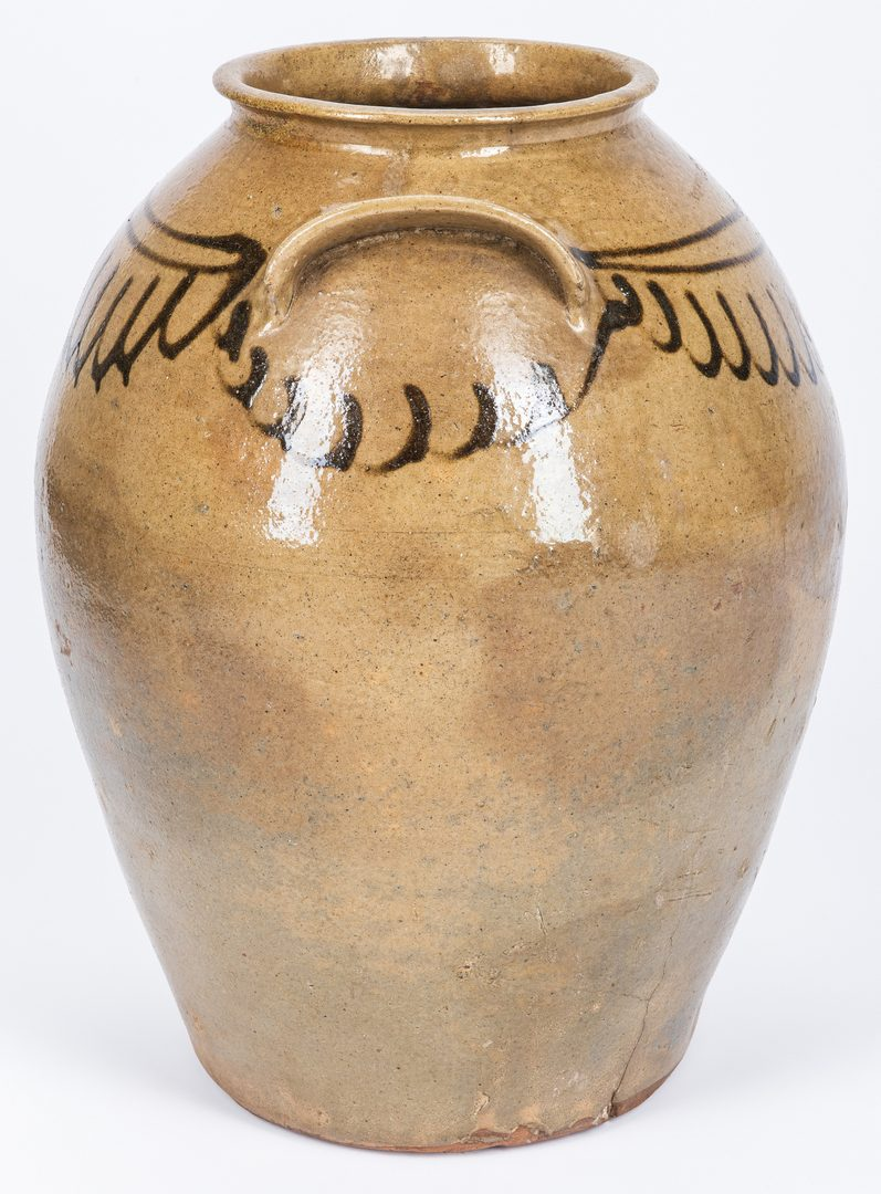 Lot 161: Edgefield South Carolina Pottery Jar
