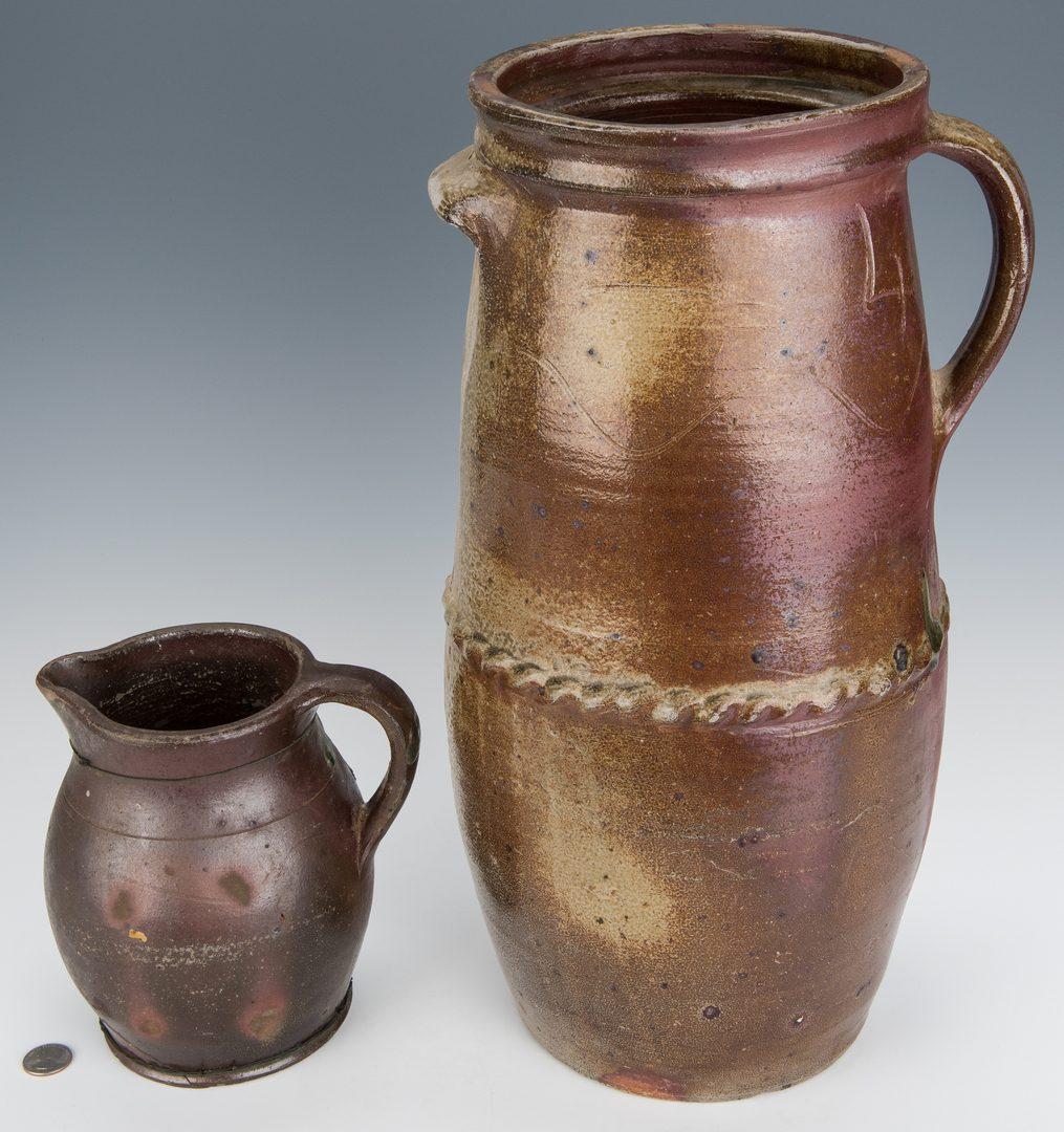 Lot 170: 2 West TN Pottery Pcs., attrib. Craven Pottery
