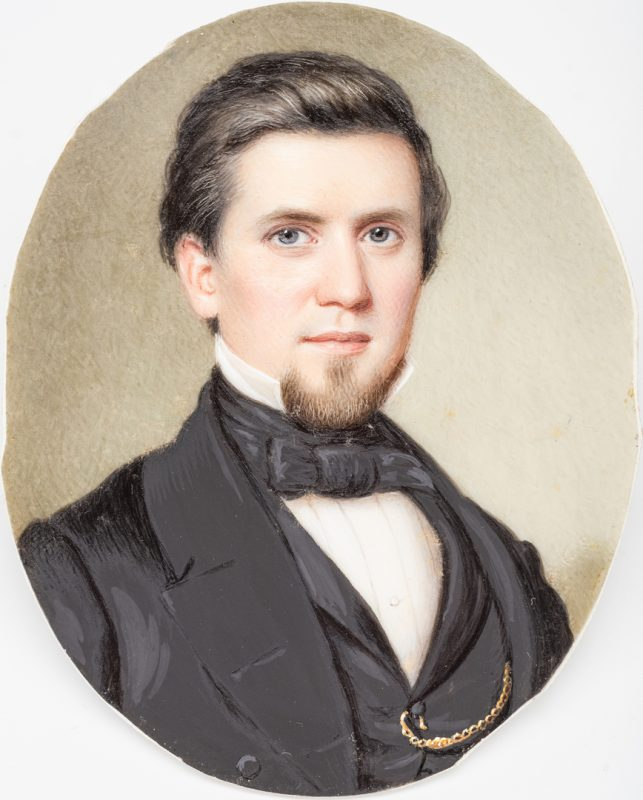 Lot 180: John Dodge Miniature TN Portrait
