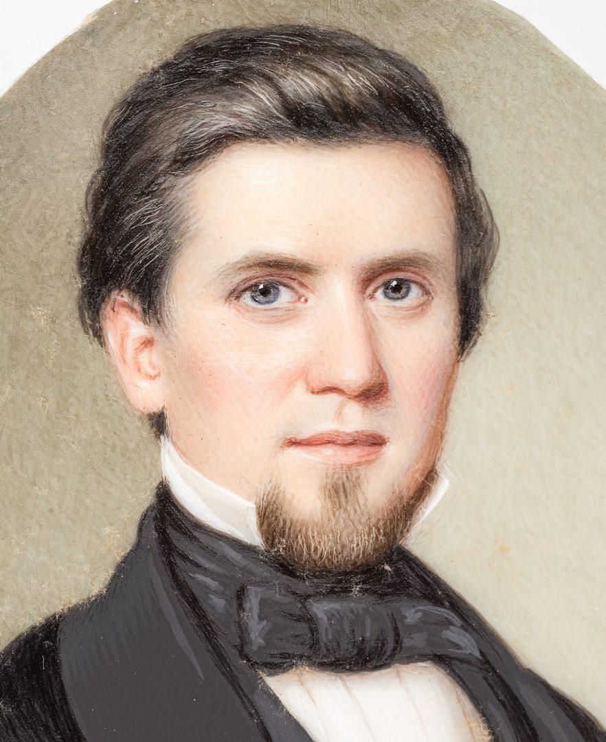 Lot 180: John Dodge Miniature TN Portrait