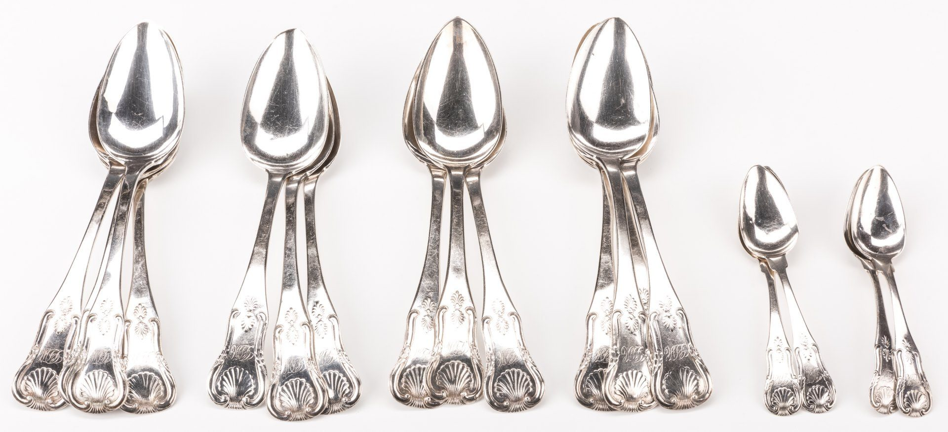 Lot 201: 14 Anthony Rasch Spoons plus 4 others