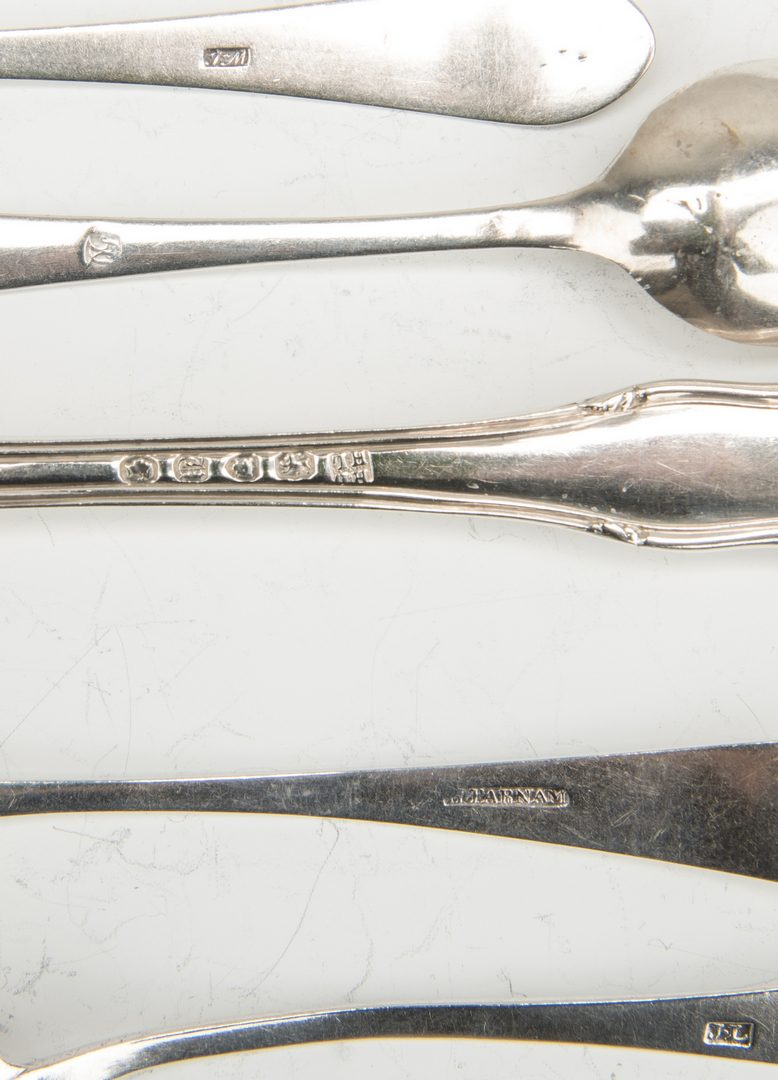 Lot 210: 15 Silver items related to Marshall family