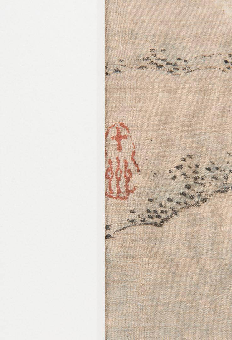 Lot 24: 5 Qing Painted Landscapes on silk