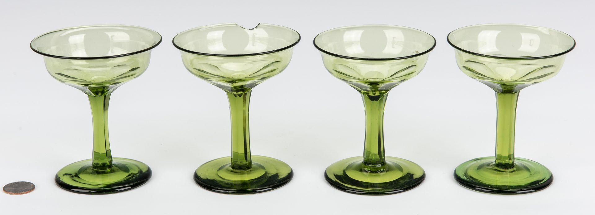 Lot 255: 4 Historic Goblets – Lafayette's TN Visit