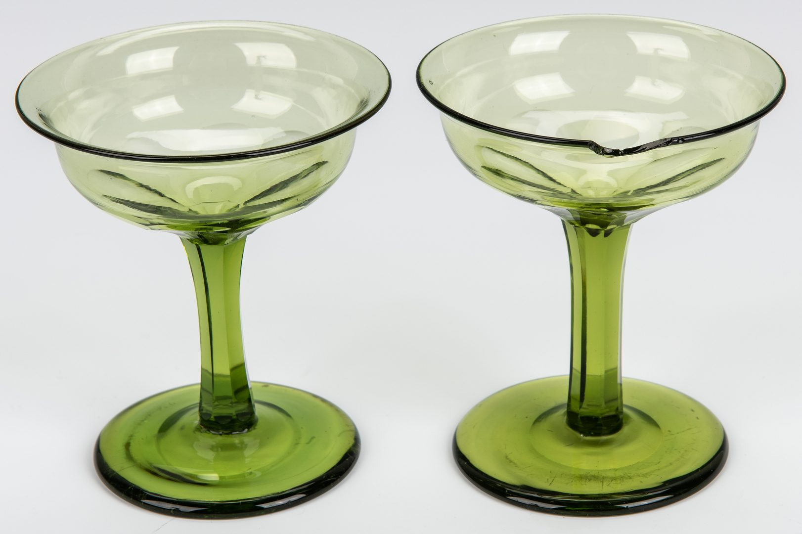 Lot 255: 4 Historic Goblets – Lafayette's TN Visit