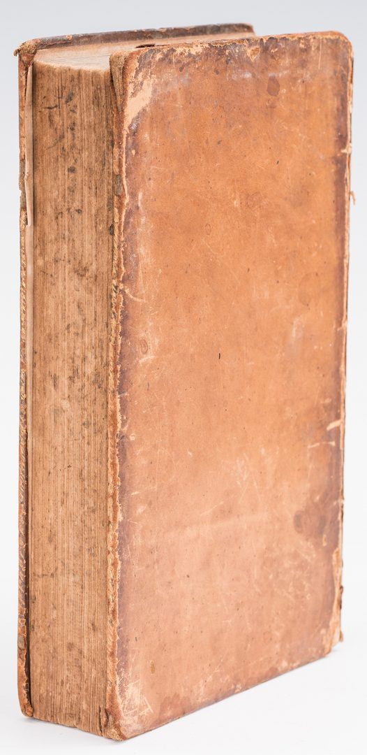Lot 262: 2 Library of John Marshall Books, inc. 1 Signed