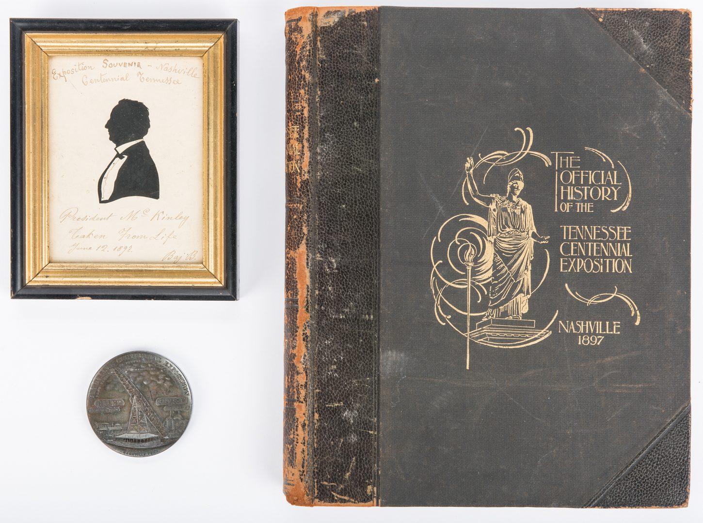 Lot 284: 3 TN Centennial Memorabilia Items