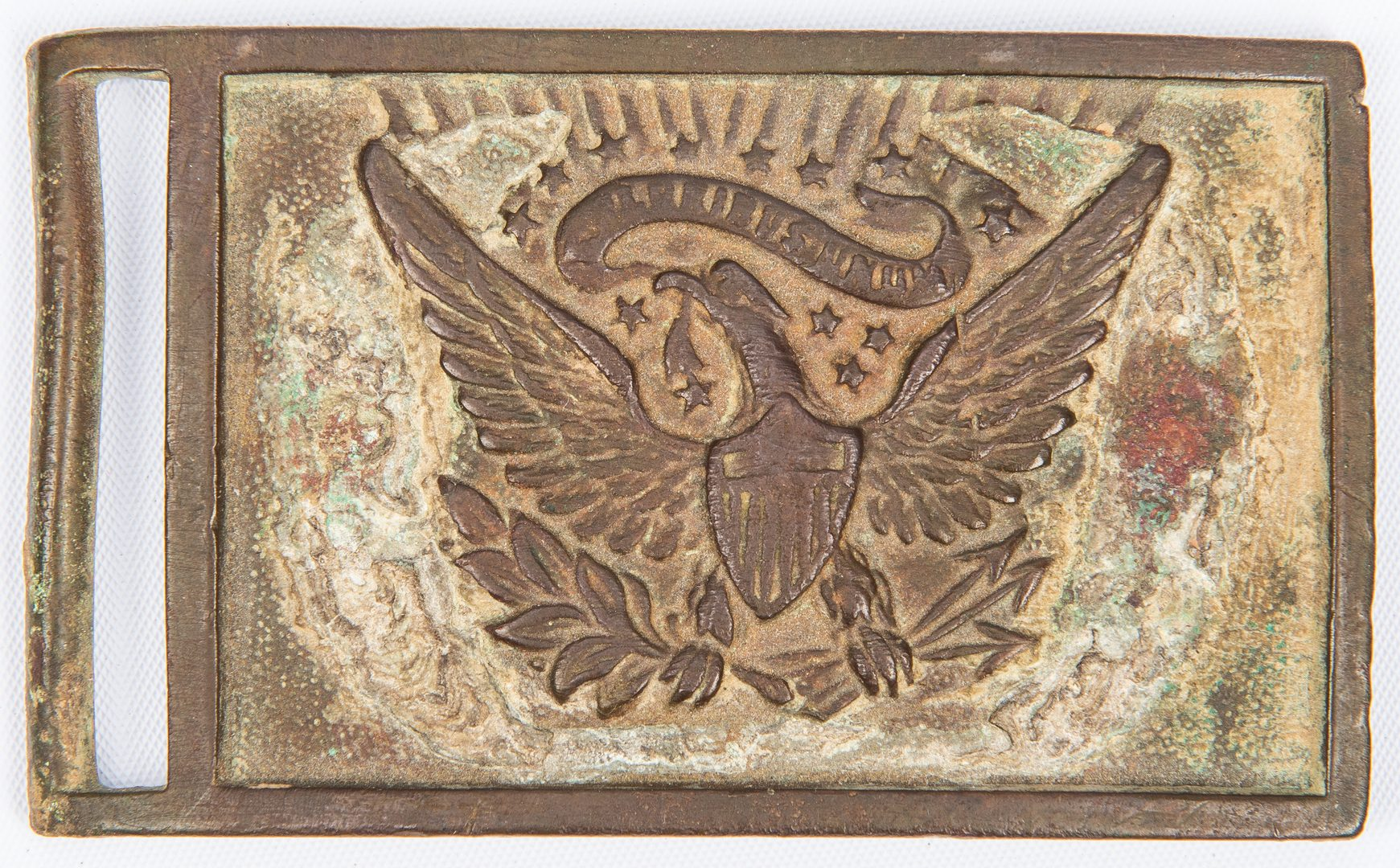 Lot 285: McKinley signed doc, Semmes CDVs, and Buckle