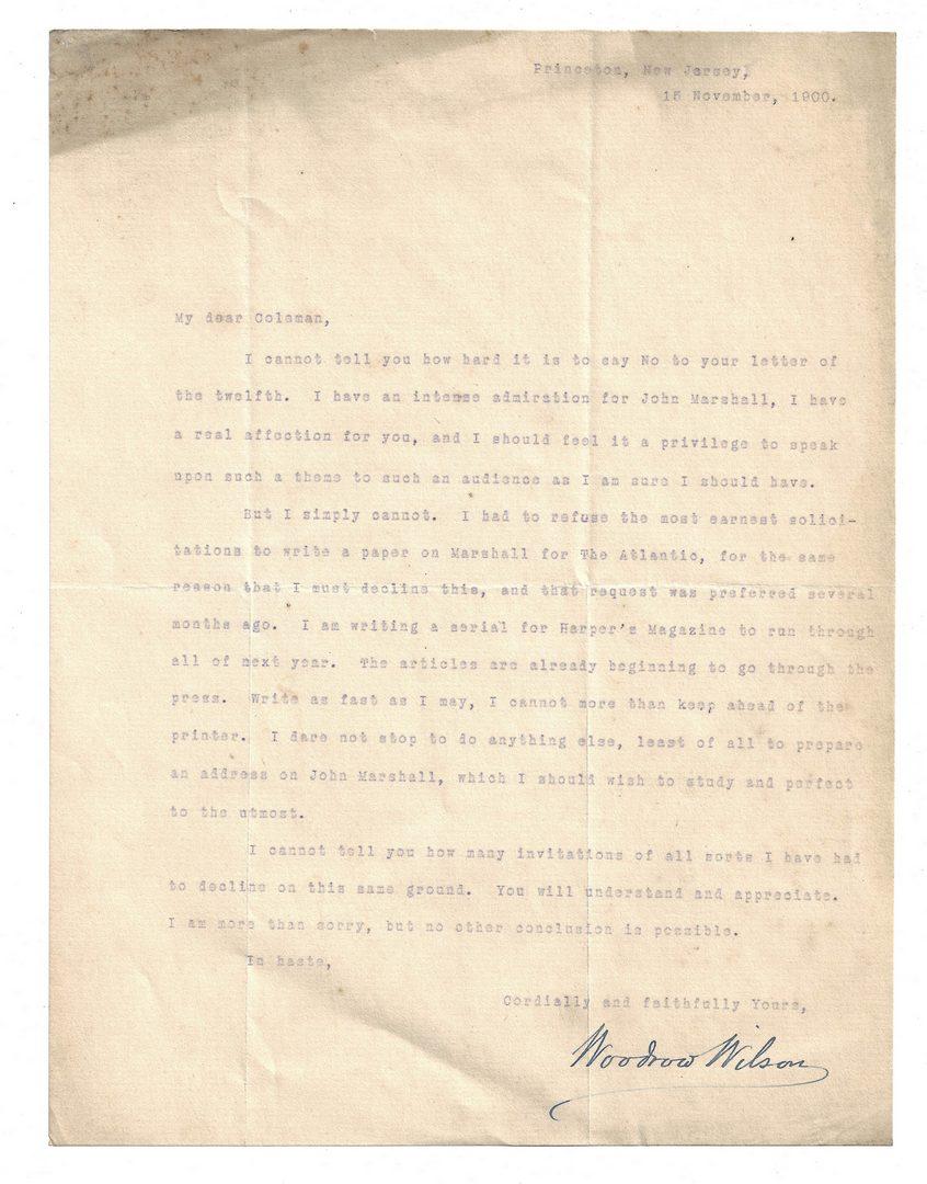 Lot 289: 4 Woodrow Wilson TLS