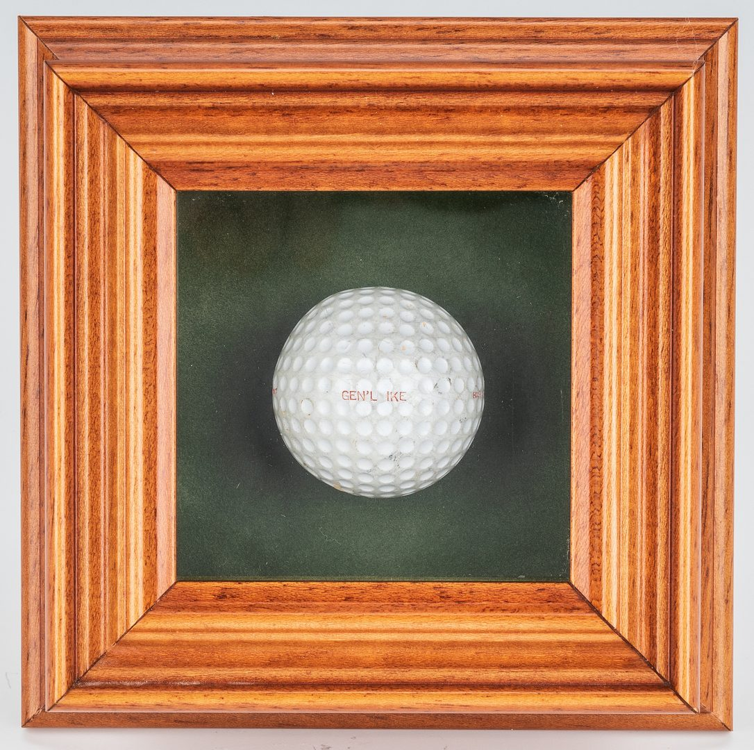 Lot 294:  Dwight D. Eisenhower Personally Used Golf Ball