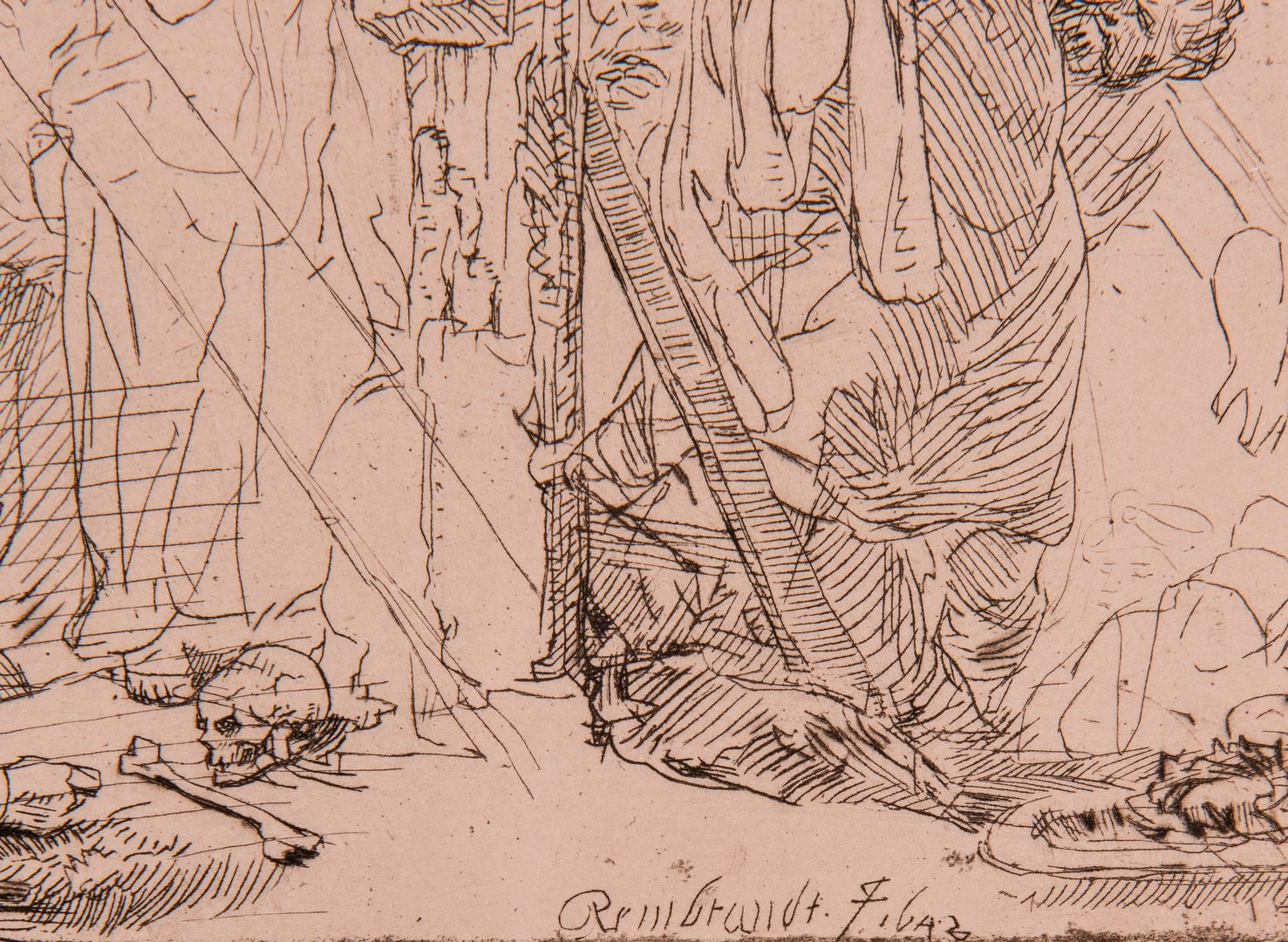Lot 309: After Rembrandt, 8 Amand Durand Religious Heliogravures, 19th cent.