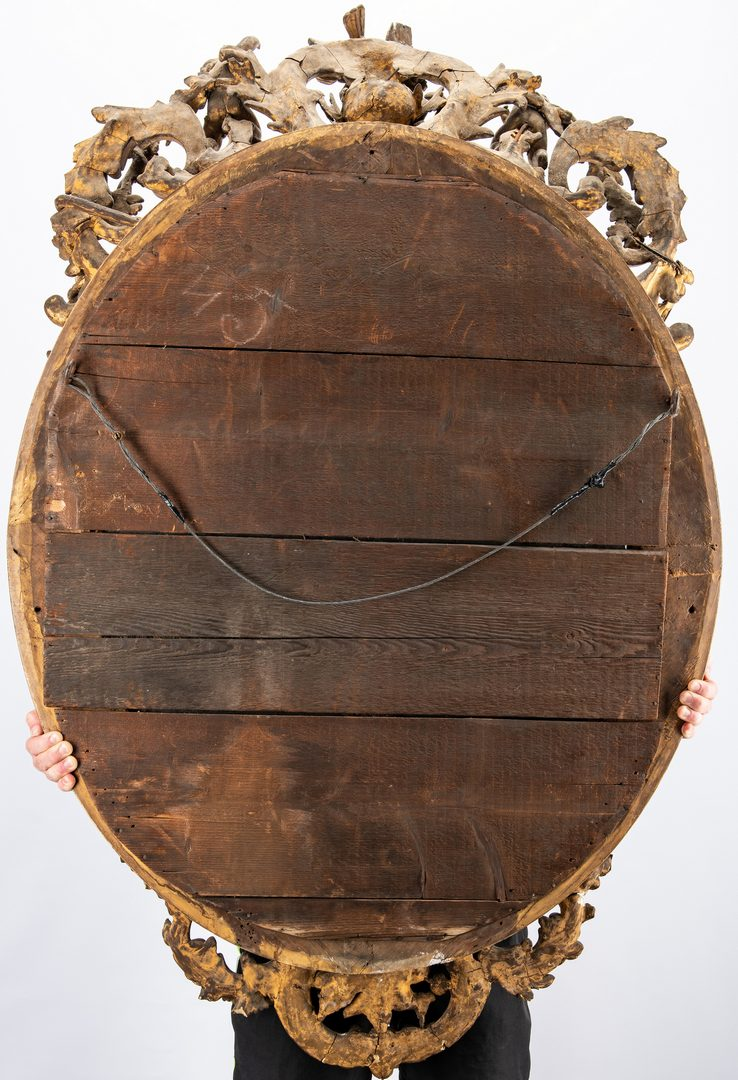Lot 312: George II Rococo Giltwood Mirror