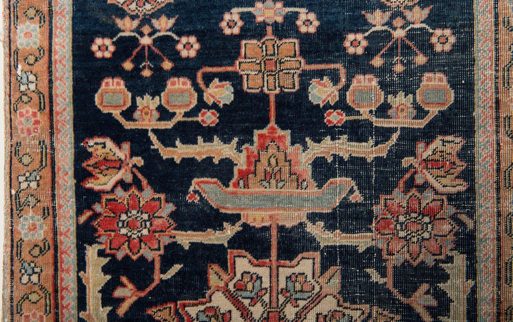 Lot 315: Antique Persian Mohtasham Kashan