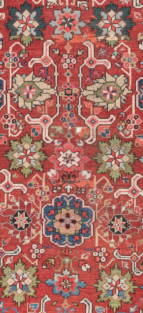 Lot 316: Antique Kuba East Caucasus area rug