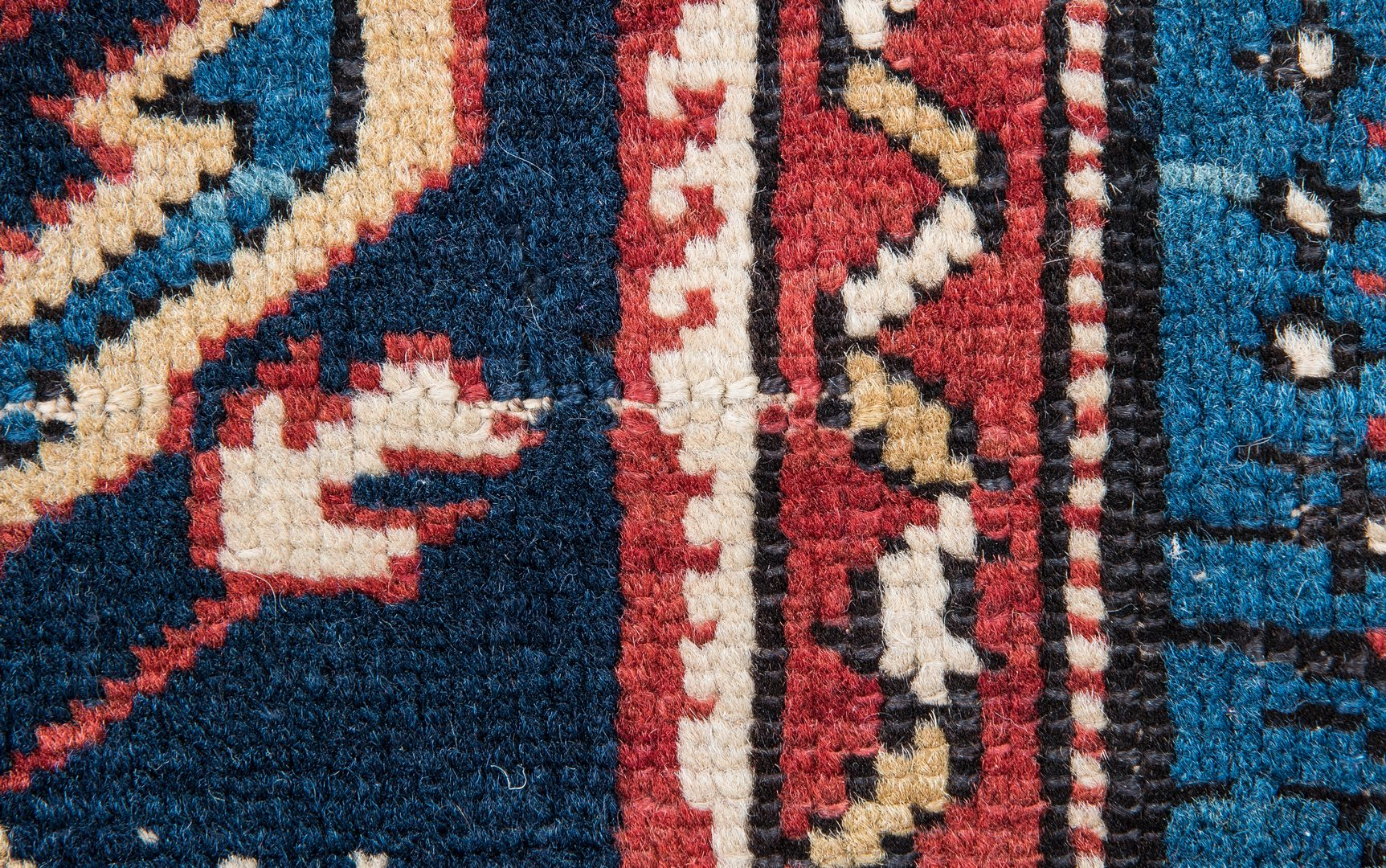 Lot 318: Antique Bidjov rug, Northeast Caucasus