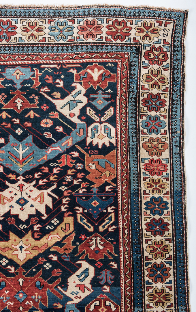 Antique Bidjov rug, Northeast Caucasus