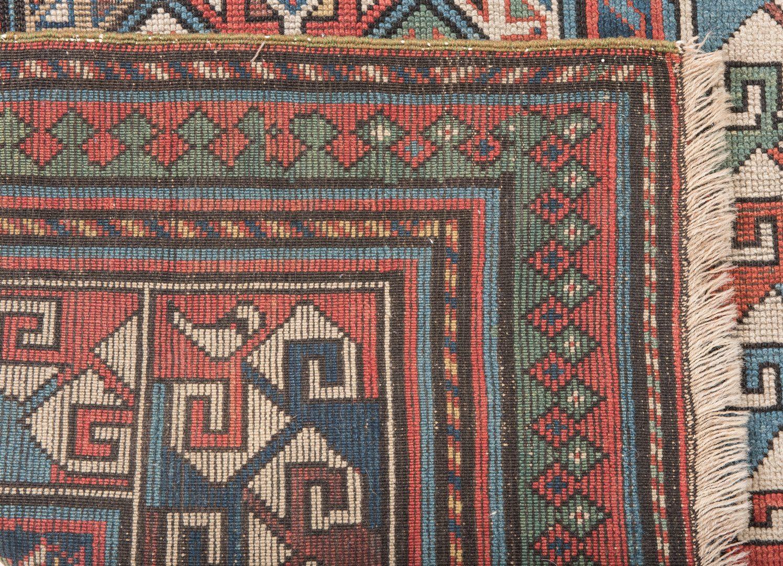 Lot 321: Antique Caucasian Karabaugh Rug