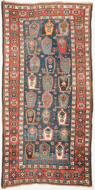 Lot 322: Antique Talish Caucasian Area Rug
