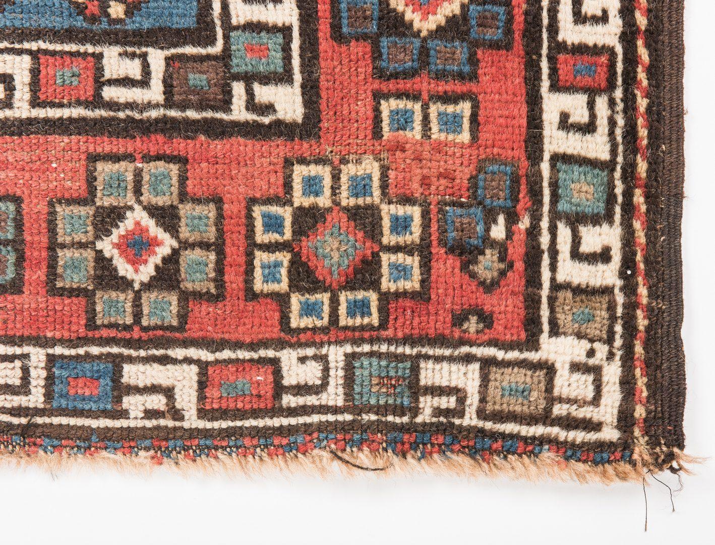 Lot 322: Antique Talish Caucasian Area Rug