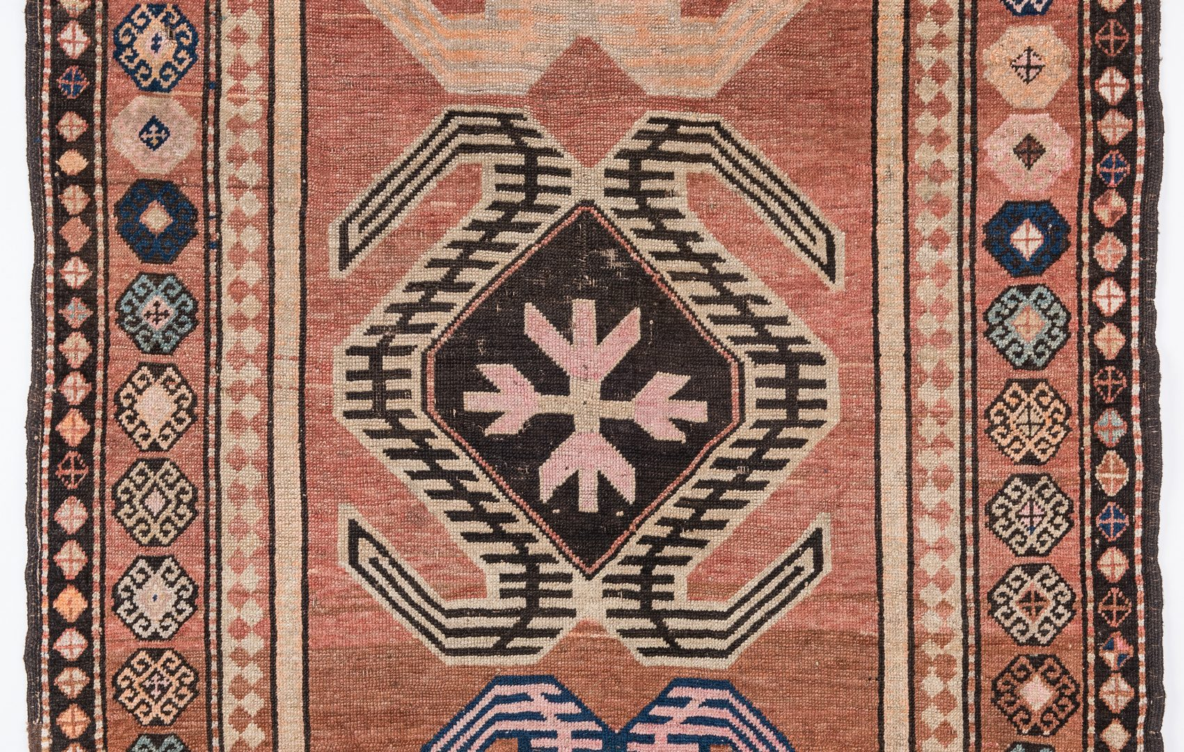 Lot 324: Antique Lenkoran Caucasian Rug, dated