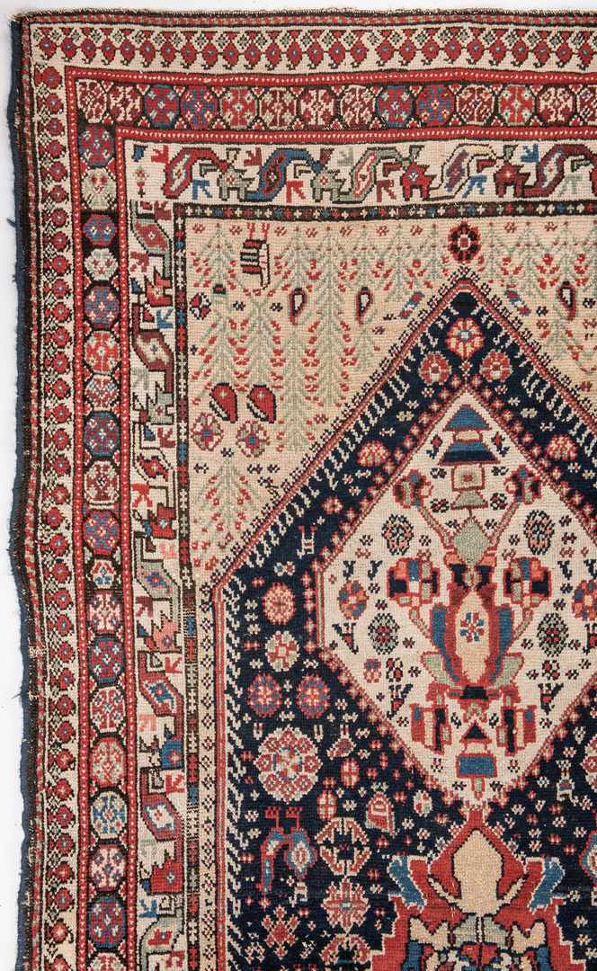 Lot 325 Antique Persian Ingeles Area Rug