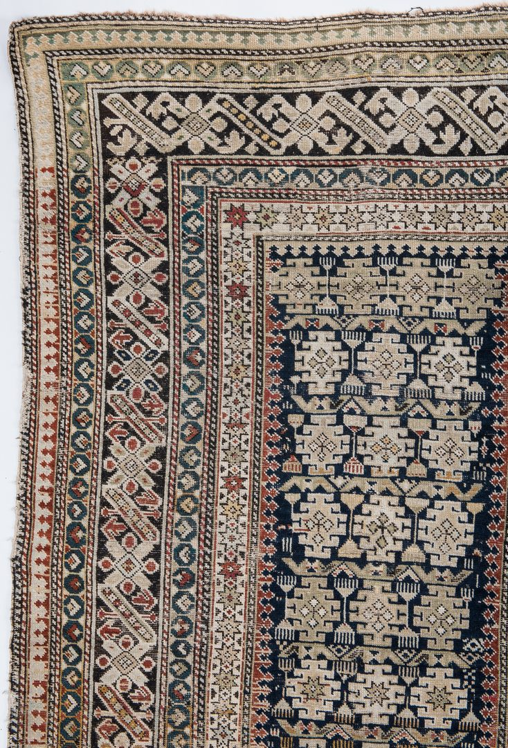 Lot 326: Antique Chi-Chi Caucasian Area Rug