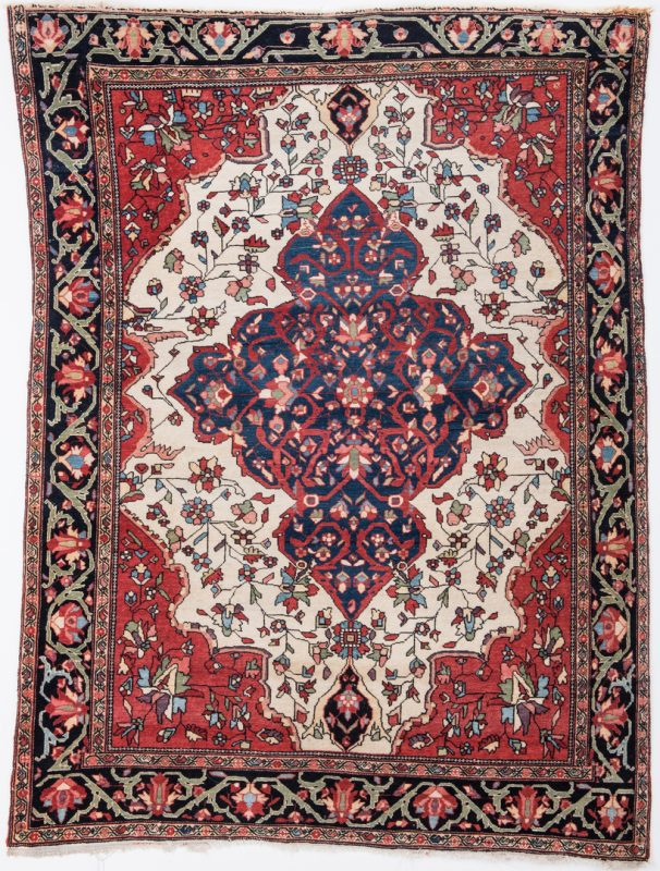 Lot 327: Antique Persian Fereghan Sarouk