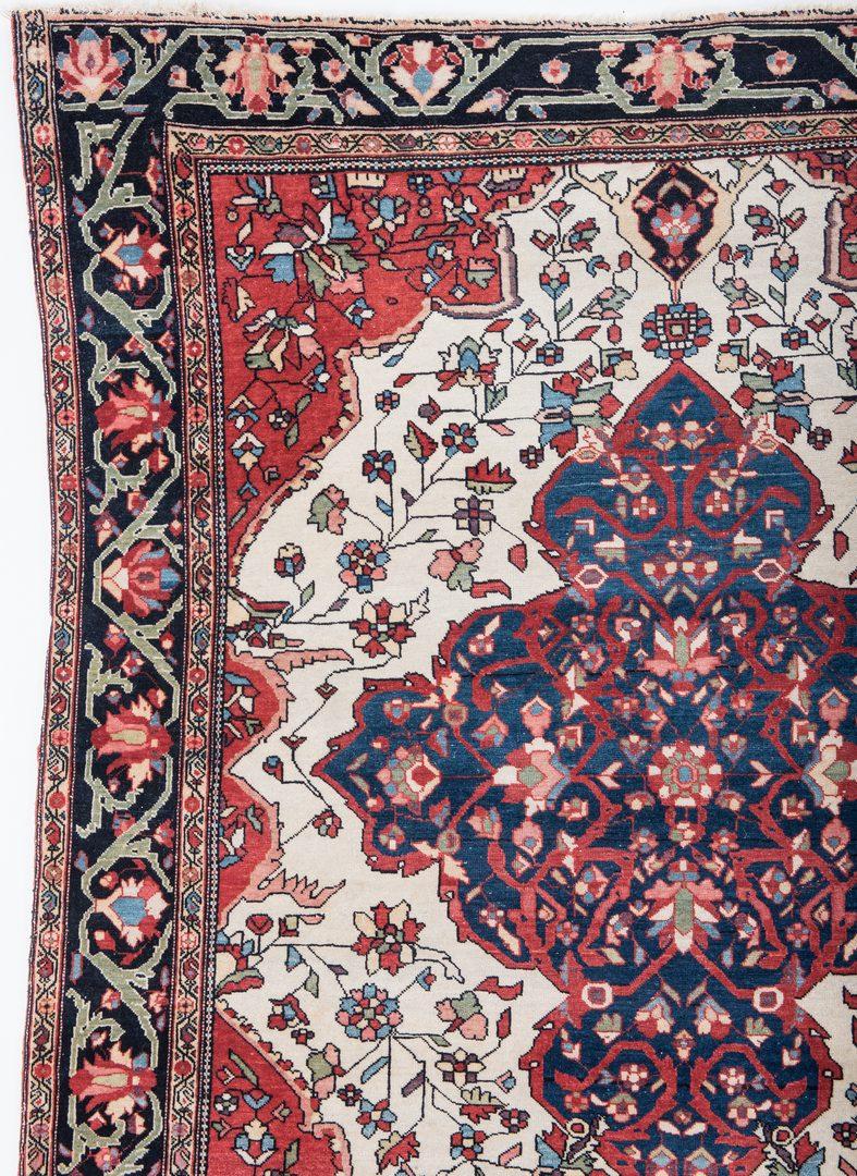Lot 327: Antique Persian Fereghan Sarouk