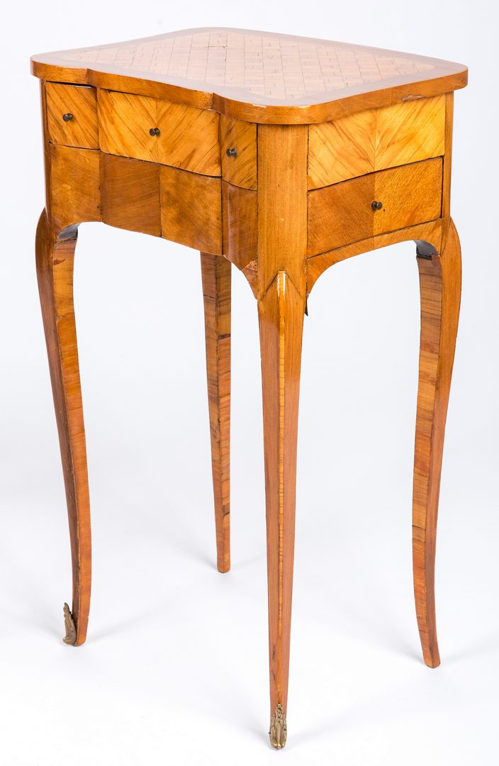 Lot 434: Pr Louis XV Style Writing Tables