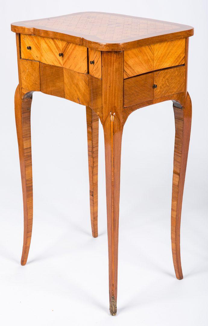 Lot 434: Pr Louis XV Style Writing Tables